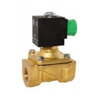Электромагнитный клапан 21H8KV120, 1/2', FKM, - 10 + 140 °С, нормально закрытый, непрямое действие, цена