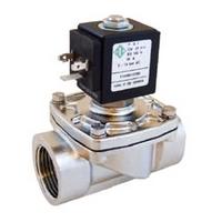 Электромагнитный клапан из нержавеющей стали 21IH6K1V250 ODE (Italy), 1', FKM - 10 + 140 °С, купить в Киеве, цена