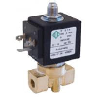 Трехходовой клапан электромагнитный 31A2AV20, 1/4', FKM - 10 + 140 °С, нормально закрытый, прямое действие, цена